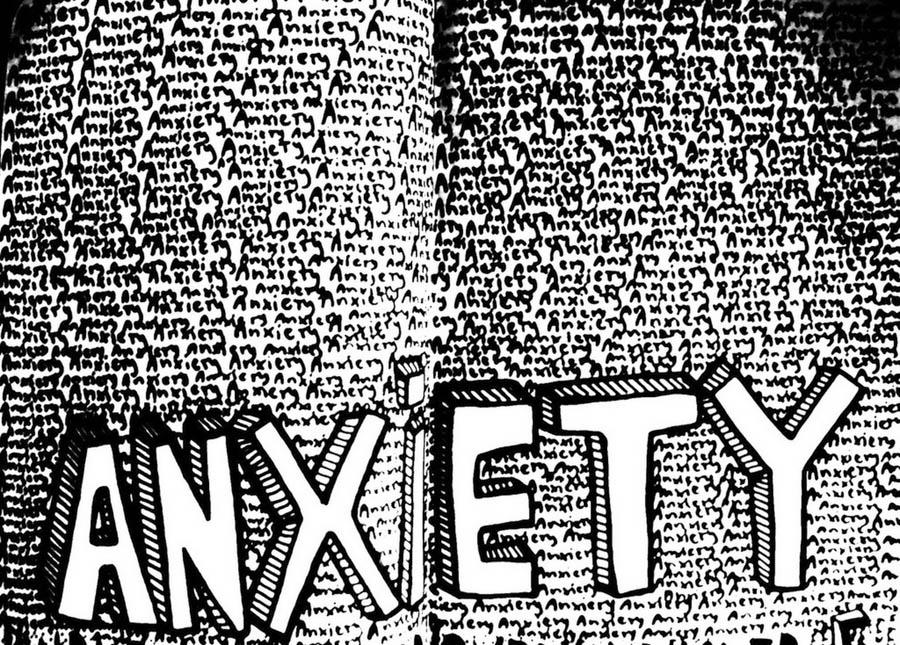 Anxiety by Mariana Zanatta