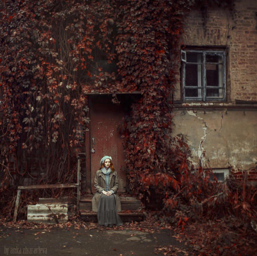 one day from the last october by anka zhuravleva