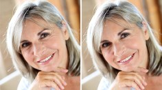 Photoshop Tutorials: How to Remove Eye Wrinkles and Crows Feet in Photoshop