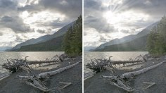 Photoshop Tutorials: How to Create Light Rays through Clouds in Photoshop