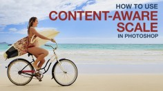 Photoshop Tutorials: How to Use Content-Aware Scale in Photoshop