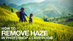 Photoshop Tutorials: How to Remove Haze in Lightroom + Photoshop