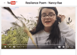 nancy rae - resilience poem