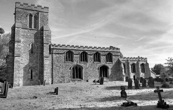 image of saxilby church near lincoln