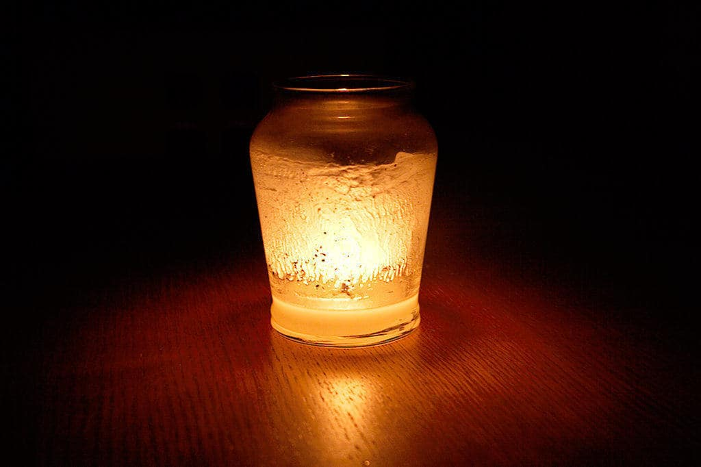 image of candle light