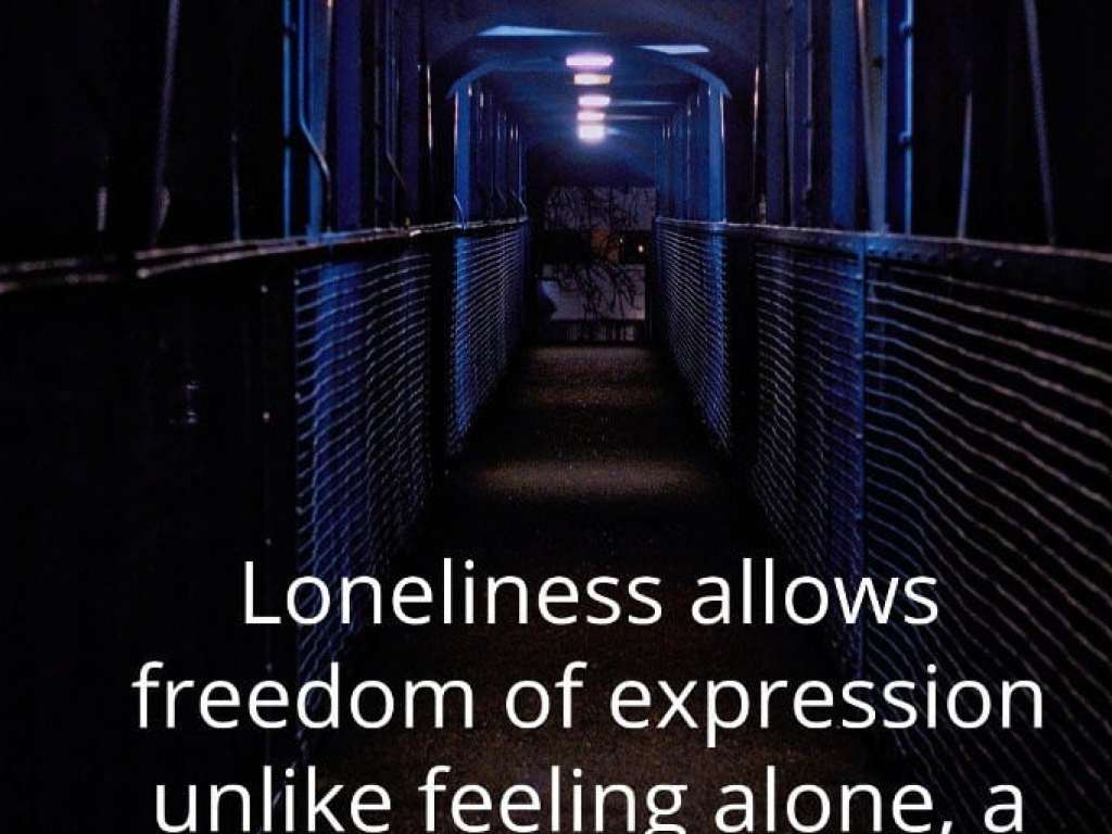 loneliness visual thought