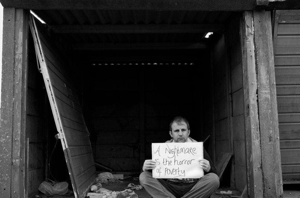 poverty street message