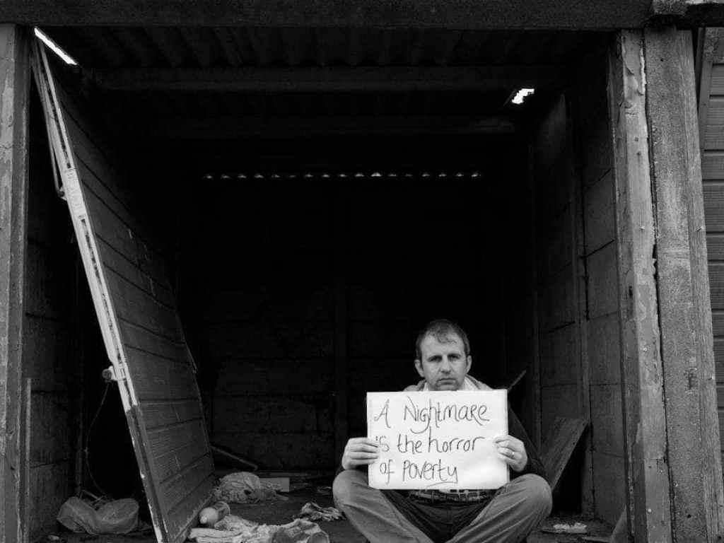 poverty street message