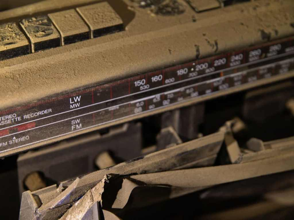 abandoned factory stereo