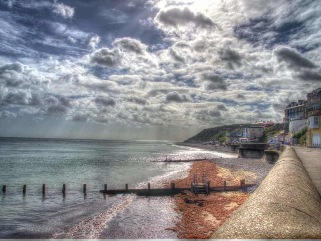 Cromer promenade views