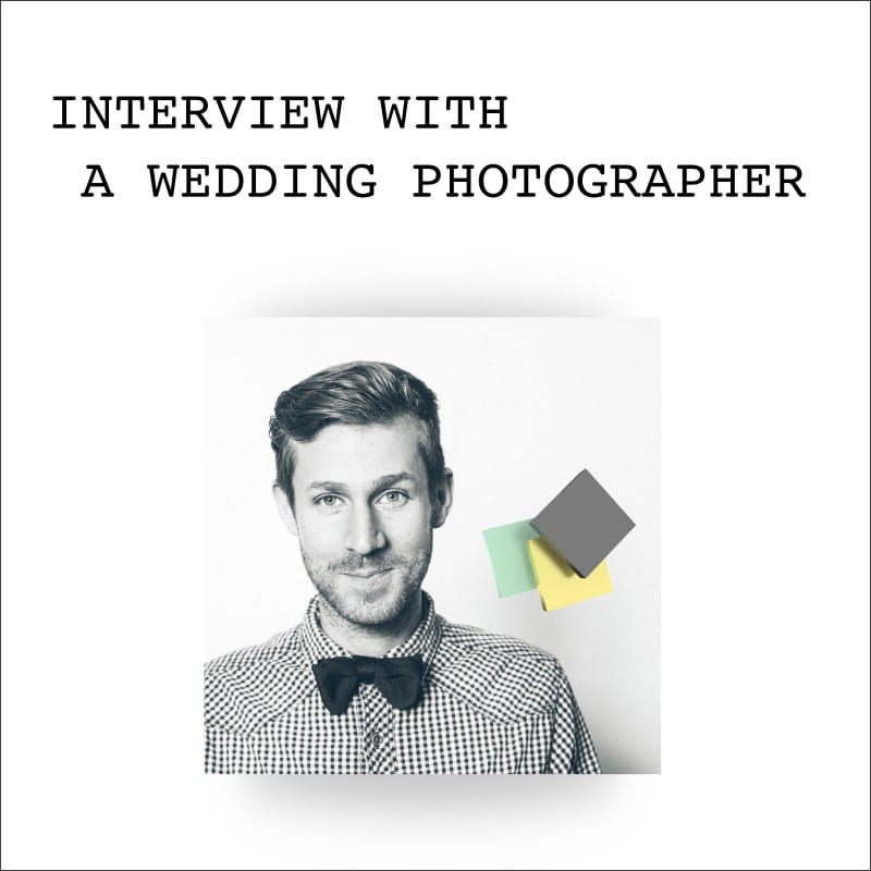 interviewing celebrity photographer
