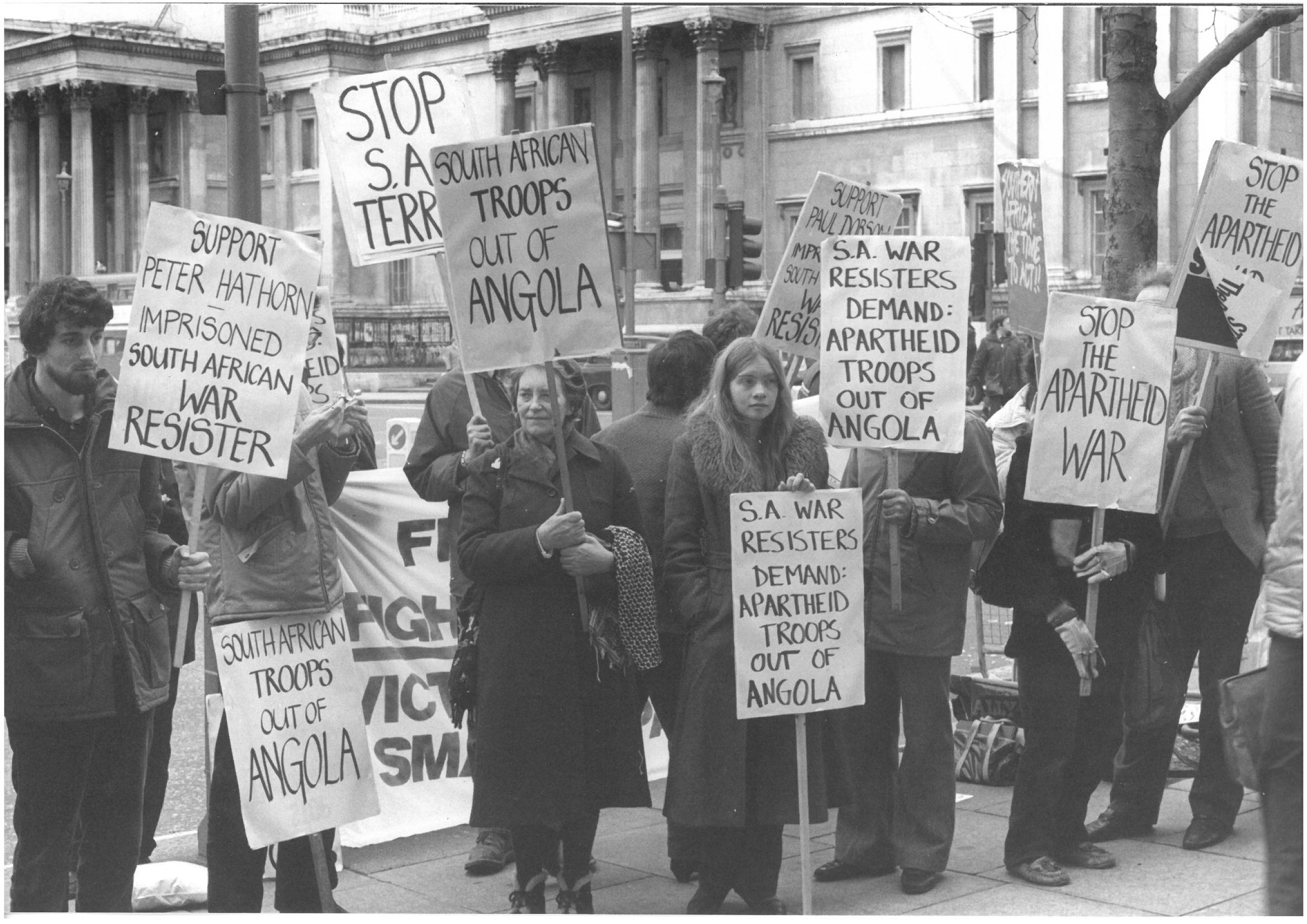 Snapshot On The South Africa Anti Apartheid Movement