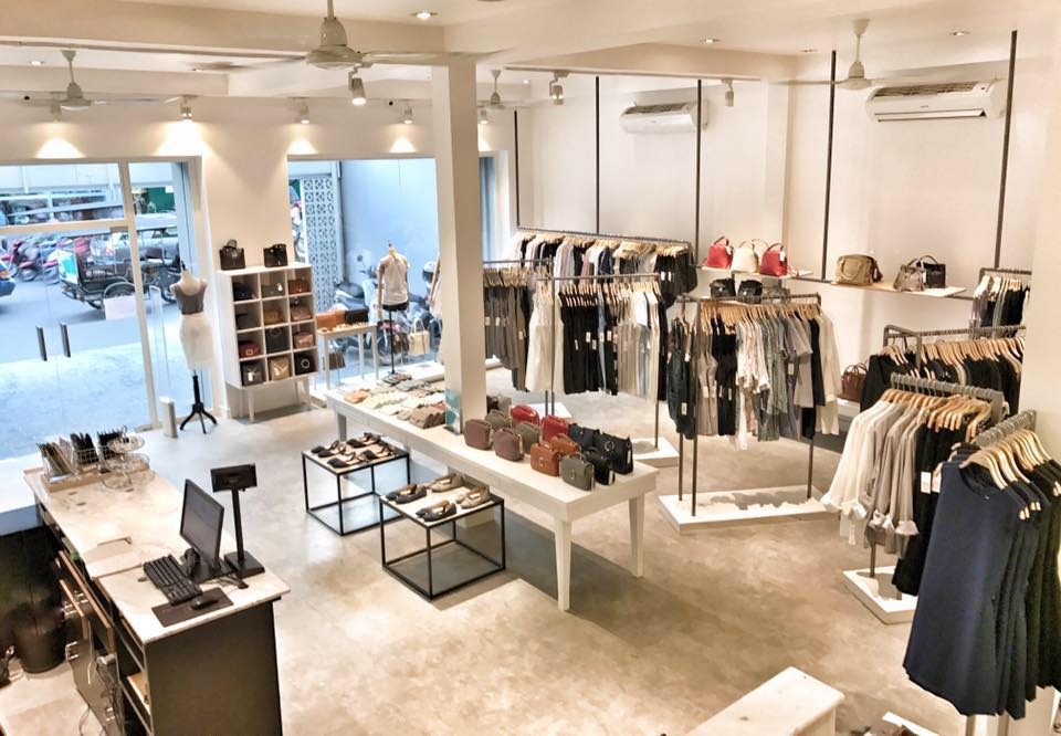 Esq the fashionable clothes shop in phnom penh phnom - Men s clothing store interior design ideas ...