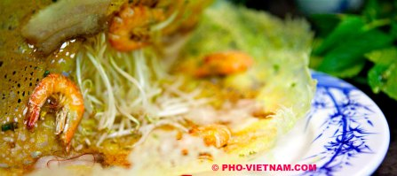 Vietnamese pannenkoeken Banh Xeo (foto: Pho Vietnam © Kim Le Cao)