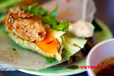 Gegrilde gehakt op rijstpapier (foto: Pho Vietnam © Kim Le Cao)