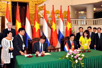 Premier Rutte in Vietnam 2014 (foto: Ambassade van Nederland in Hanoi)