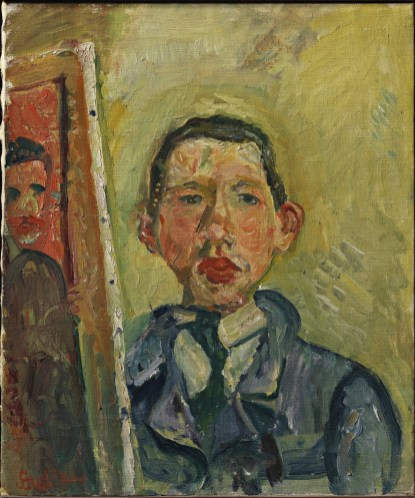 Self portret of Chaïm Soutine 1918 (bron: Henry and Rose Pearlman Collection/Public Domain)