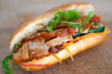 Banh mi Xa xiu (photo: Kim Le Cao © Pho Vietnam)