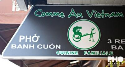 Vietnamese restaurant in Parijs (foto: Kim Le Cao © Pho Vietnam)