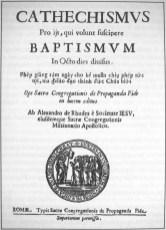 Catechismus van Alexandre de Rhodes in het Latijn en Vietnamees