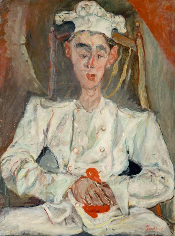 Chaïm Soutine The Little Pastry Cook 1922-1923 Paris, musée de l'Orangerie © RMN-Grand Palais (musée de l'Orangerie) / Thierry Le Mage