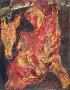 Chaïm Soutine Side of Beef and Calf's Head Around 1925 Paris, musée de l'Orangerie © RMN-Grand Palais (musée de l'Orangerie) / Hervé Lewandowski