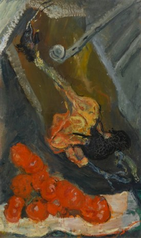 Chaïm Soutine Turkey and Tomatoes Around 1923-1924 Paris, musée de l'Orangerie © RMN-Grand Palais (musée de l'Orangerie) / Franck Raux