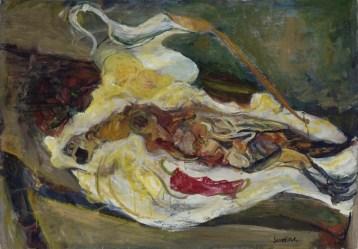 Chaïm Soutine Still Life with a Pheasant Around 1924 Paris, musée de l'Orangerie © RMN-Grand Palais (musée de l'Orangerie) / Hervé Lewandowski