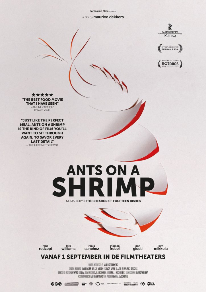 Film poster Ants on a shrimp