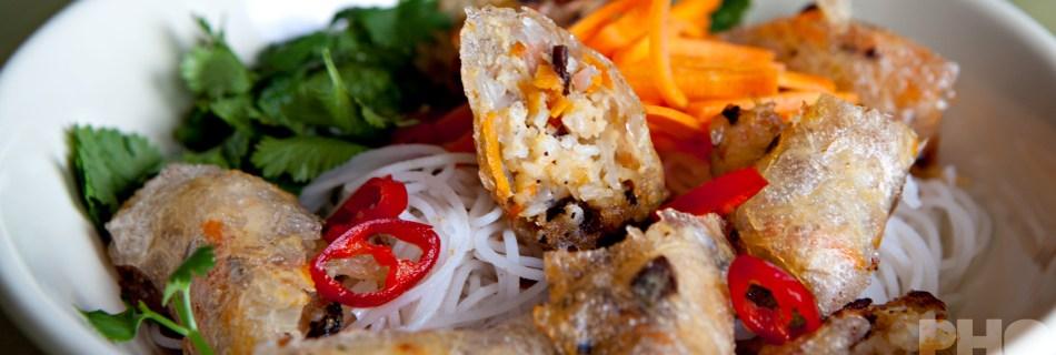 Bun nem ran (foto: Kim Le Cao © Pho Vietnam)