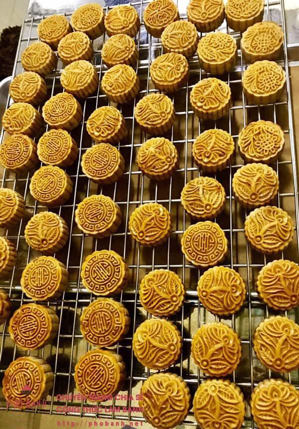 Công thức làm bánh trung thu thập cẩm gà quay