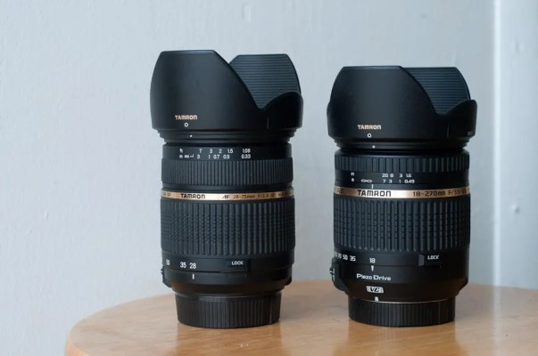 28-75mm (L) with 18-270mm