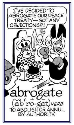 Abrogate Phocabulary Word Photo Word Of The Day To
