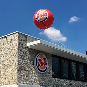 support publicitaire les ballons publicitaires gonflables
