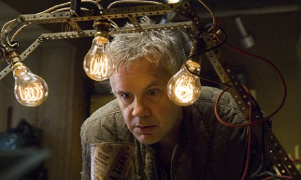 Tim Robbins and his gadgets