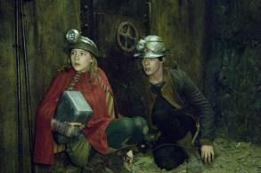 Lina and Doon underground