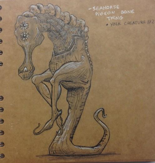 """""""Tadapore"""" creature design"""