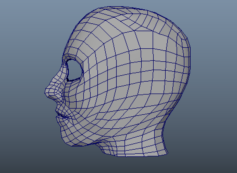 I couldn't get that one patch of topology right