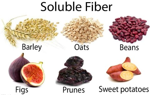how to improve cholesterol naturally fiber