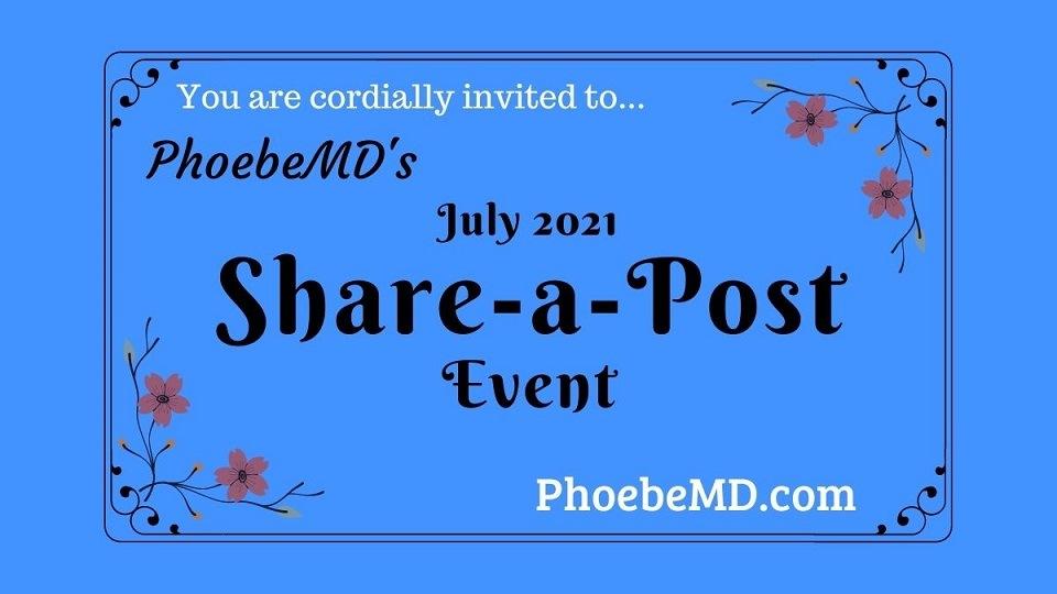 Promote blog at phoebemd.com