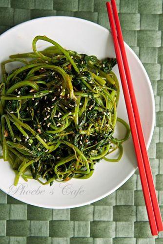 韓国風辛いアマランサス和え調理法