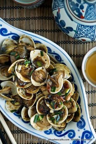 중국식 매운 조개 볶음 레시피