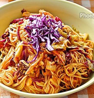 キムチ素麺レシピ