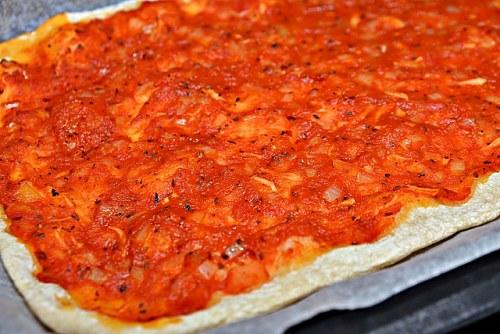 피자 굽기