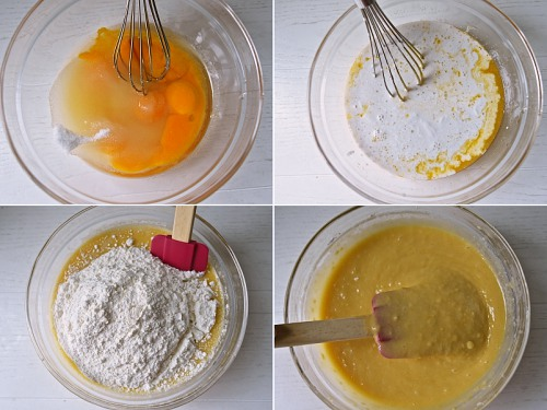 생크림 케익 레시피