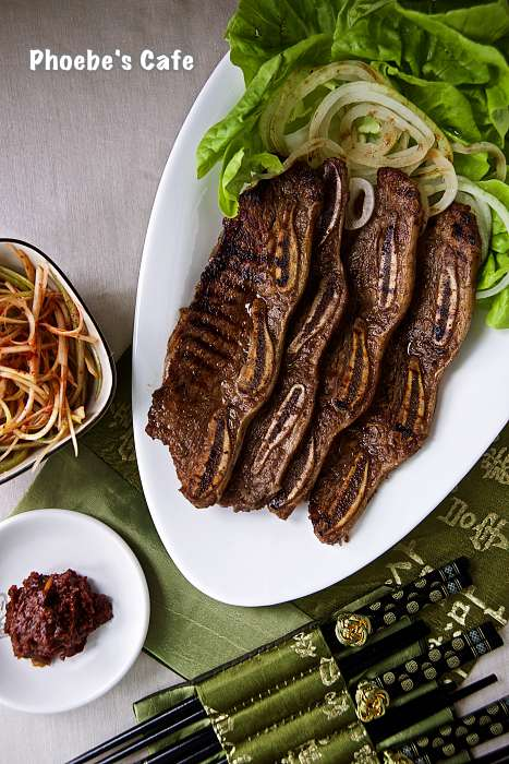Korean LA Galbi recipe