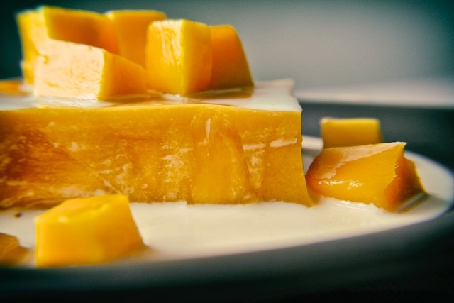jelly mango pudding recipe