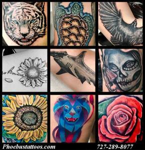 Fufred Tattoo Artist Phoebus Tattoos Studio Realism illsutration watercolor art custom tattoos