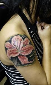 lilly tattoo flower
