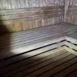 Gereinigte Sauna mit Phoenix-Enzymreiniger Sauna 2